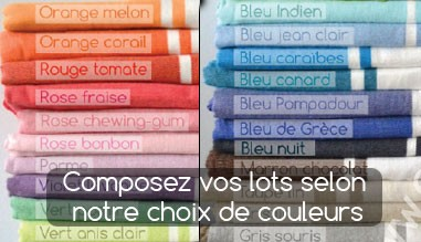 Choisissez vos couleurs